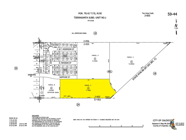 Photo of 0 Vacant Land / 7.79 ac / Res Acreage, Calexico Imperial Valley Real Estate and Imperial Valley Homes for Sale