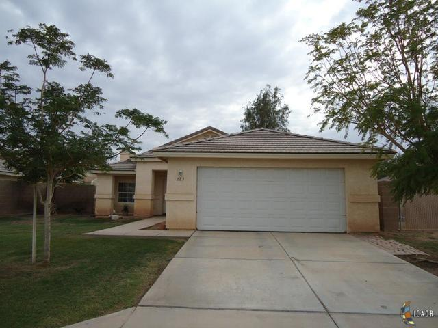 Photo of 223 San Felipe, Imperial Imperial Valley Real Estate and Imperial Valley Homes for Sale