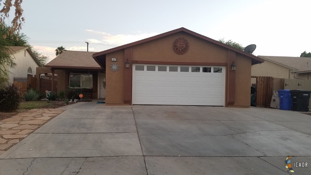 Photo of 143 SOUTHWIND DR, El Centro Imperial Valley Real Estate and Imperial Valley Homes for Sale