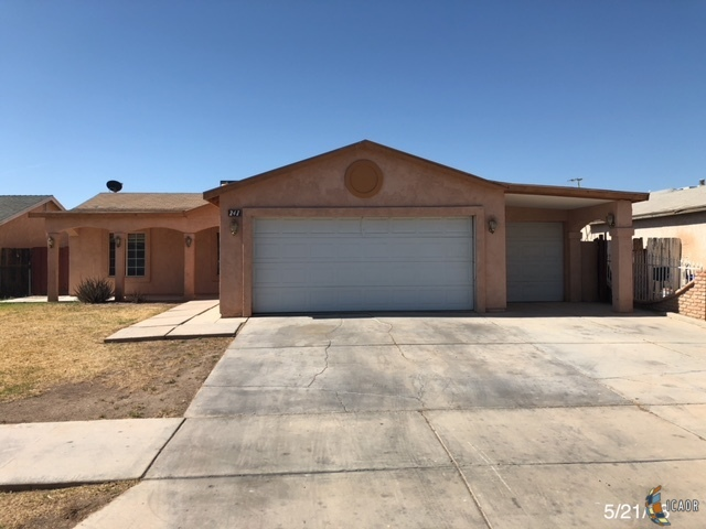 Photo of 241 AURORA DR, El Centro Imperial Valley Real Estate and Imperial Valley Homes for Sale